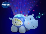 Lil' Critters Soothing Starlight Hippo™